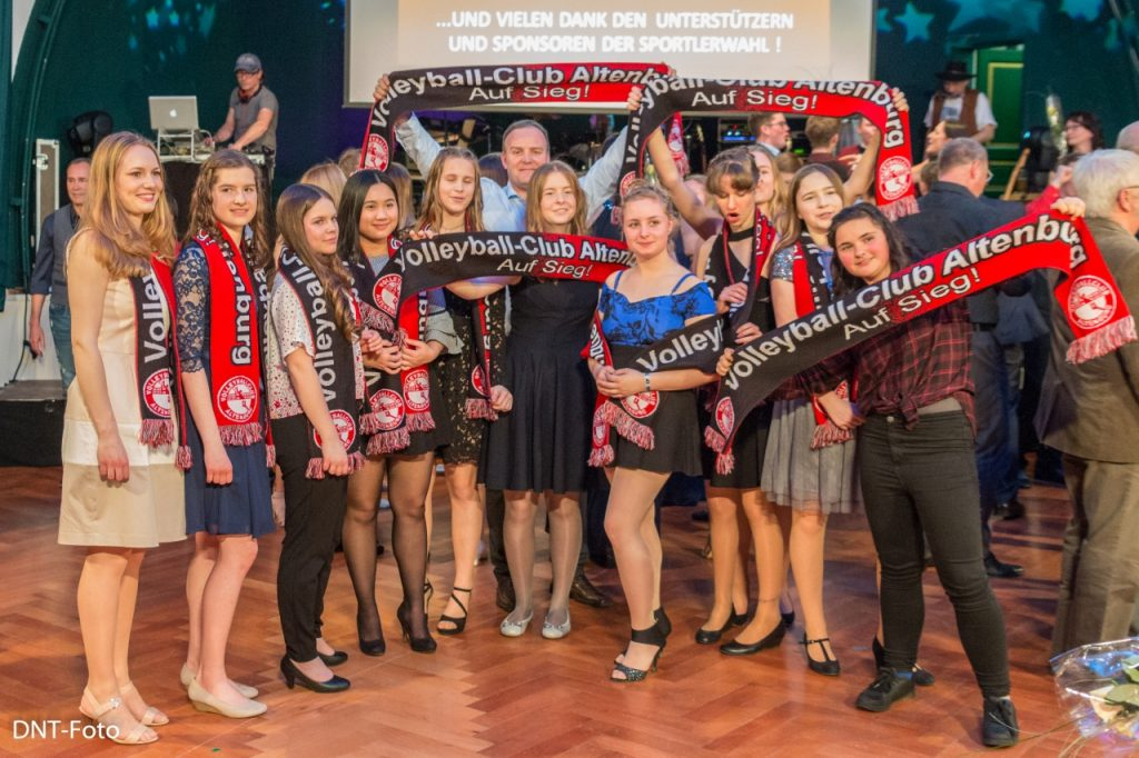 U 16 W Nachwuchsmannschaft Des Jahres 2017 Volleyball Club