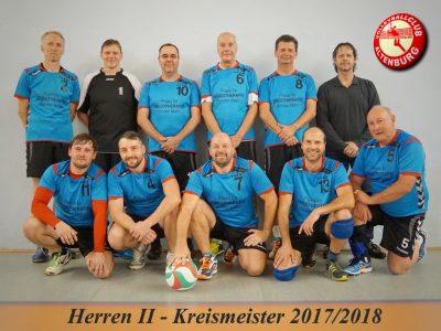 VCA II – Wieder Kreismeister im Herrenvolleyball 2018