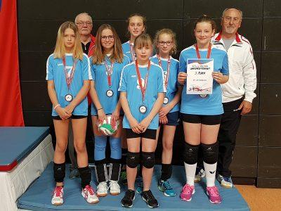 Teilnahme der U13w des VCA an der Mitteldeutschen Meisterschaft als Höhepunkt einer erfolgreichen Saison!