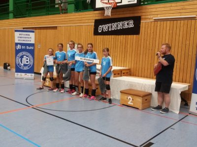 Mitteldeutsche Meisterschaft U 13 weiblich!