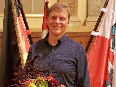 Heiko Tänzer erhält die Goldene Ehrennadel des Kreises Altenburger Land!