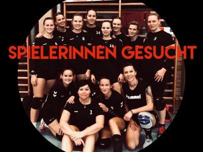 Damen I sucht Trainer + Spielerinnen!