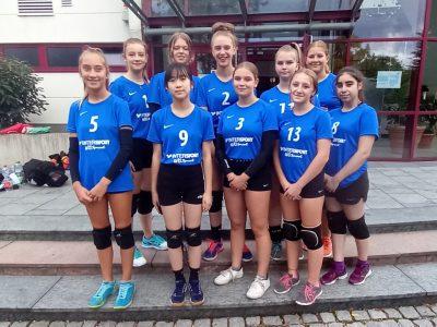 U16 weiblich startet erfolgreich in die neue Saison!